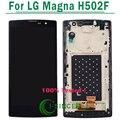 1 ШТ Черный Цвет Для LG Magna H502F H500F Y90 LCD дисплей + Сенсорный Экран Digitizer + Замена Ассамблеи Рамка Бесплатная Доставка доставка