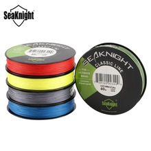 SeaKnight Classic 300M 500M Braided Fishing Line 4 Strand PE Line Braid Multifilament Fishing Line 6 8 10 15 20 30 40 50 60 80LB