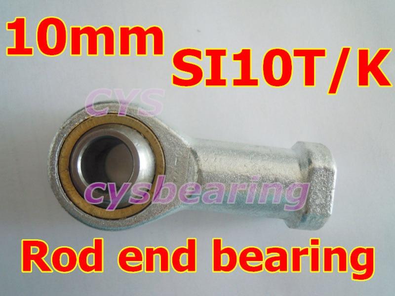 SA10T//K M10 x1.5Male Metric Threaded Rod End Joint Spherical Plain Bearing10mm H