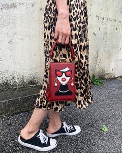 Image 5 - نظارات عالية الجودة مثير امرأة نمط بولي Casual المرأة عادية محفظة حقيبة يد حقيبة كتف الإناث مستحضرات التجميل حقيبة كروسبودي بولسا