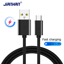 Micro USB Fast Charging Cable Data Charger Android Mobile Phone Flat for Samsung Xiaomi Huawei