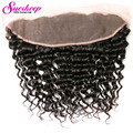Virgin Human Hair 7A Cheap Malaysian Deep Wave Lace Frontal Closure 13x4 Ear To Ear Lace Frontal Closure With Bundles