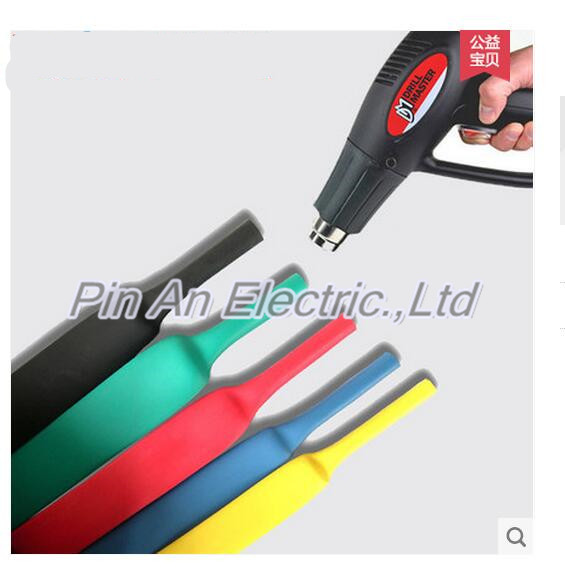 25m/roll 30MM  Heat shrinkable tube  heat shrink tubing Insulation casing 25m  a reel Rohs inflame