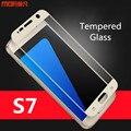 For Samsung s7 glass tempered glass screen protector full cover for samsung galaxy s7 tempered glass MOFi original protect film