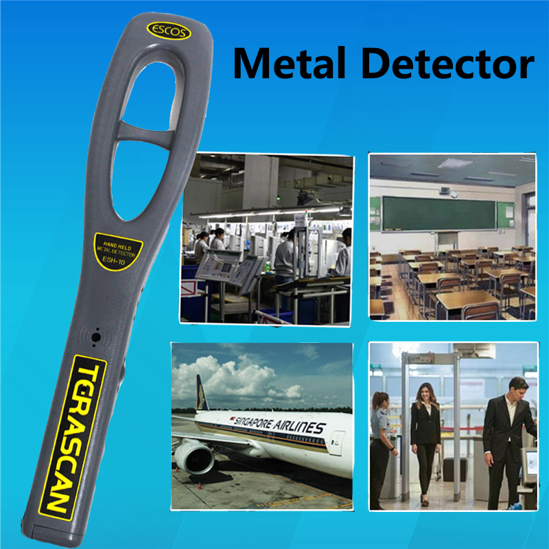 ESH-10 Hand-held Metal Detector securitys