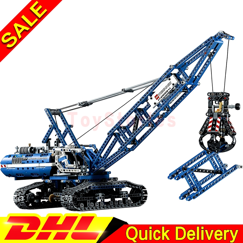 Lepin 20010 Genuine Technic Mechanical The Crawling Crane Set Building Blocks Bricks Educational legoings Toys Clone 42042 ювелирное изделие 20010