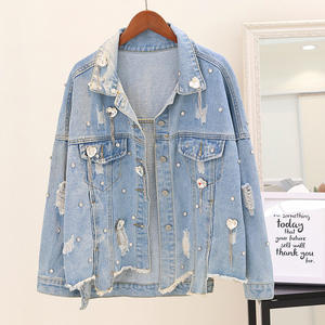 759c3c2f649e Chimavvi 2018 Autumn Women s Jeans Jacket Denim Coat