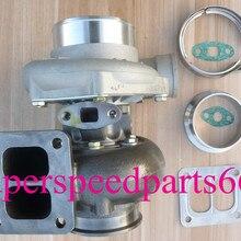 T70 T04Z T66 TO4R GT35 GT45 a/r.70 a/r1.32 T4 двойной прокрутки с водяным и масляным охлаждением 500hp-700hp журнал подшипник турбокомпрессор