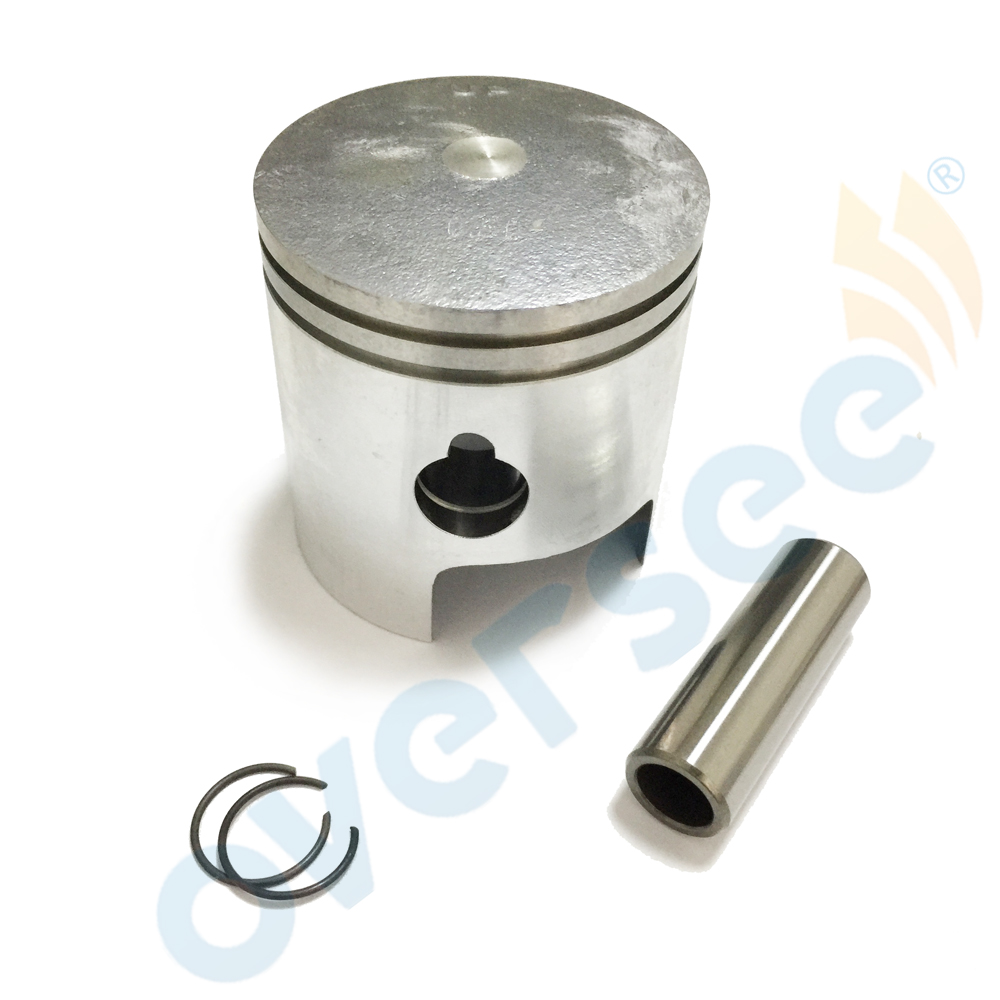 351 00004 1 piston (0.5MM O/S) Set 050 for Tohatsu 9.9HP 15HP Outboard Engine boat motor brand new aftermarket Part