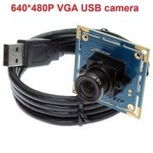 2PCS Cheap VGA 640*480P OV7725 mini cmos board camera module for industrial laptops