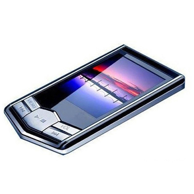 """1 Pcs מתכת נייד 4 GB 8 GB 16 GB 32 GB Slim 1.8 """"אינץ LCD HD MP3 MP4 נגן מוסיקה רדיו FM הקלטת פונקצית #1"""