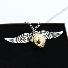 Harry Potter Necklace – Angel Wing Snitch UNISEX