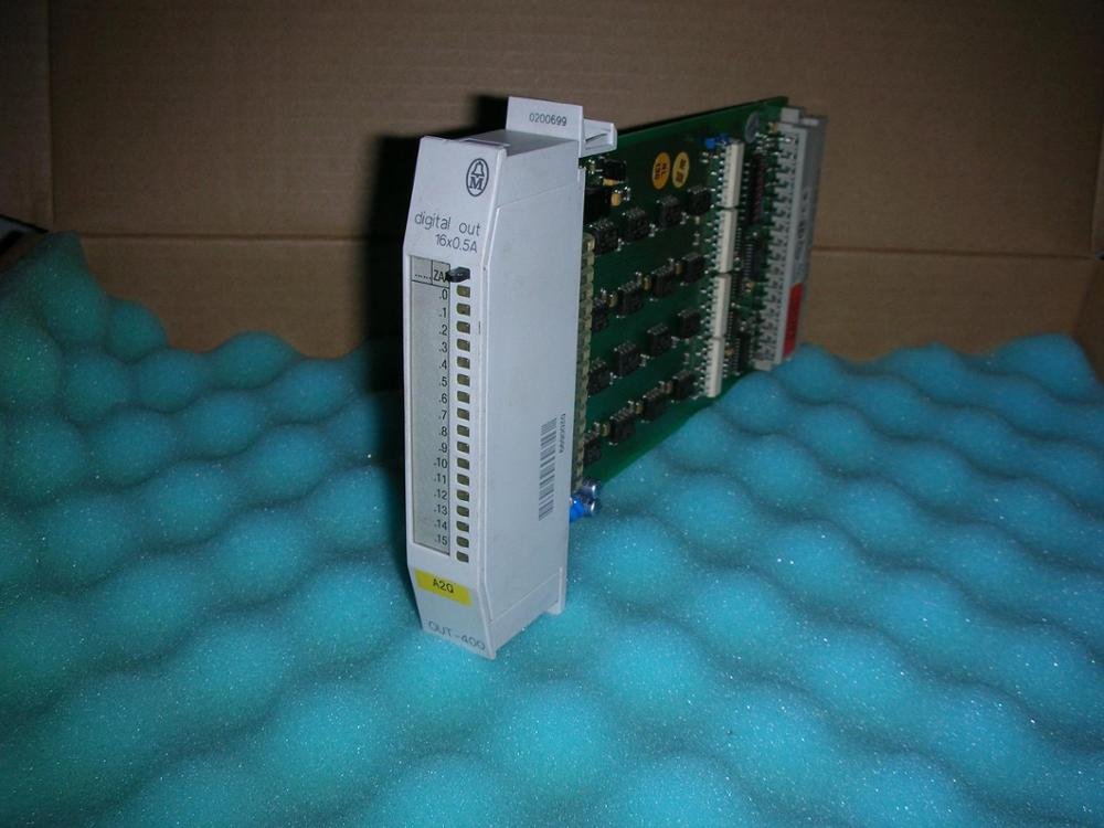 1PC USED Muller PLC PS416-OUT-400 цена