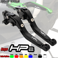 Motorcycle CNC Adjustable Foldable brake Clutch Levers for BMW HP2 SPORT 2008 2009 2010 2011 with Logo (HP2 SPORT)