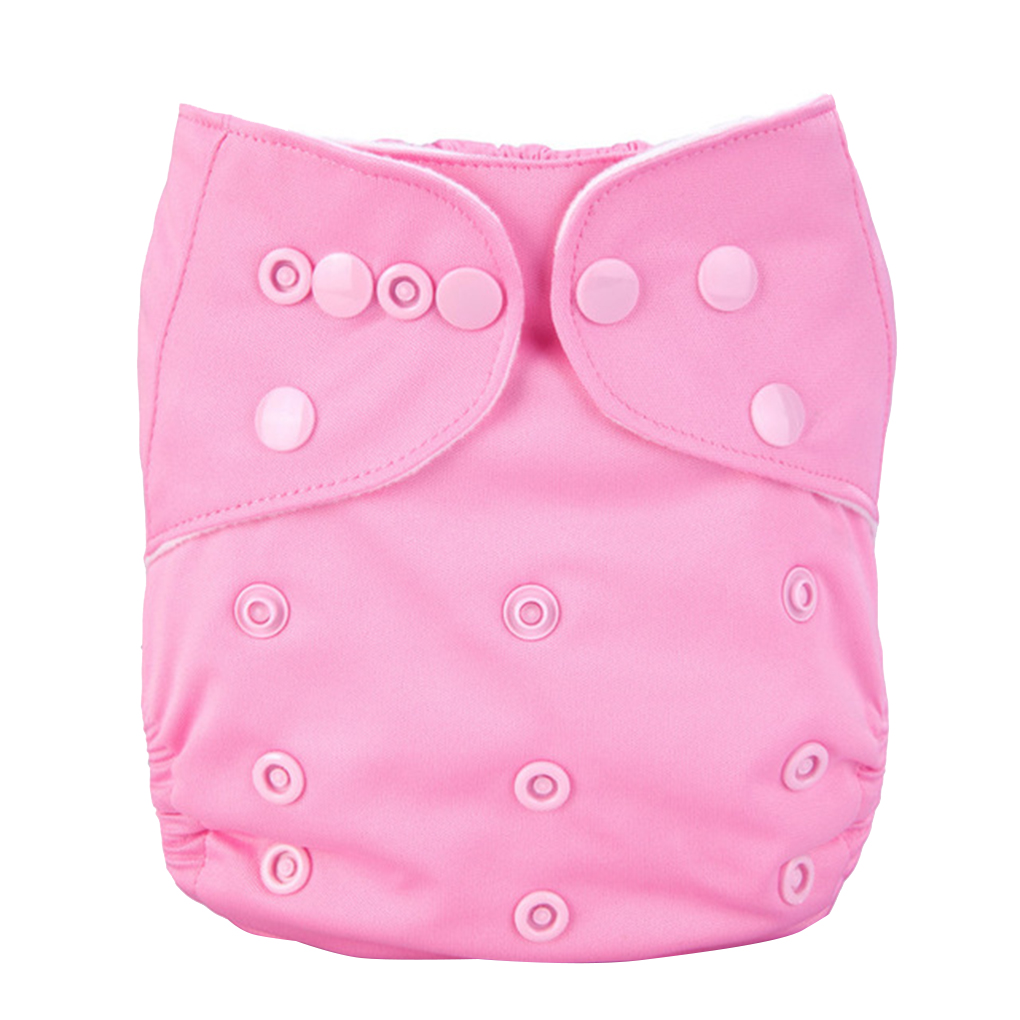 Brand New 12 Colors Solid Color Washable Reusable Nappies Breathable TPU Waterproof Diaper Baby Leakage Proof Pants