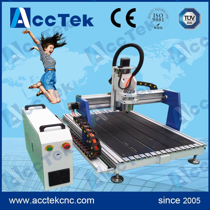 Jinan Acctek cheap low cost 3 axis mini cnc router ce certificated jinan acctek cheap hot sale laser machine spare parts