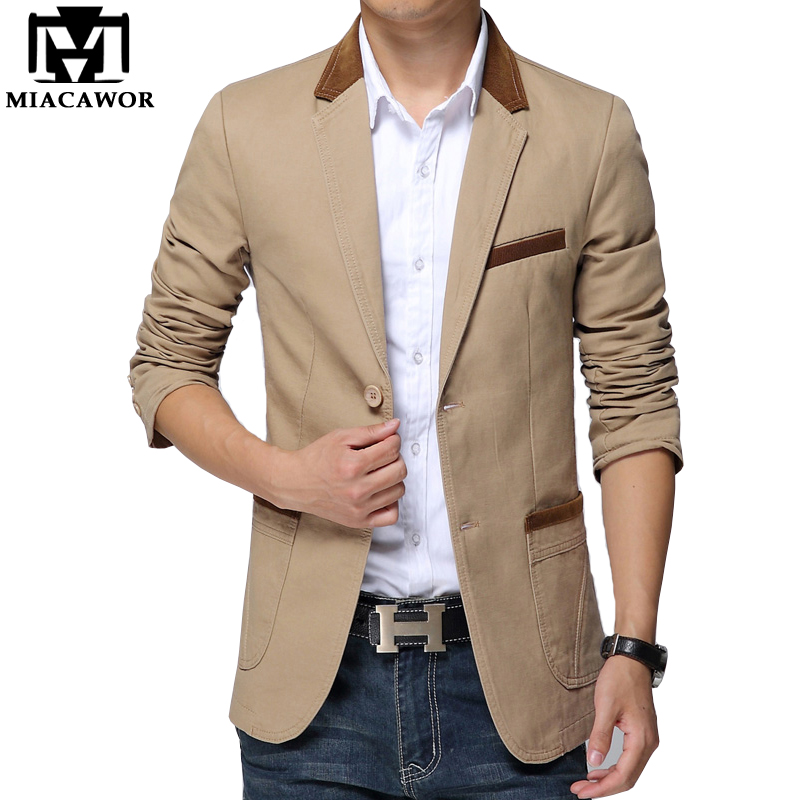 Plus Size 5XL 2017 New Mens Blazer Jacket Men's Casual Slim Fit ...