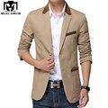 Plus Size 5XL 2017 Nova Mens Jaqueta Blazer Ocasional dos homens Slim Fit Paletós Terno Masculino MJ277