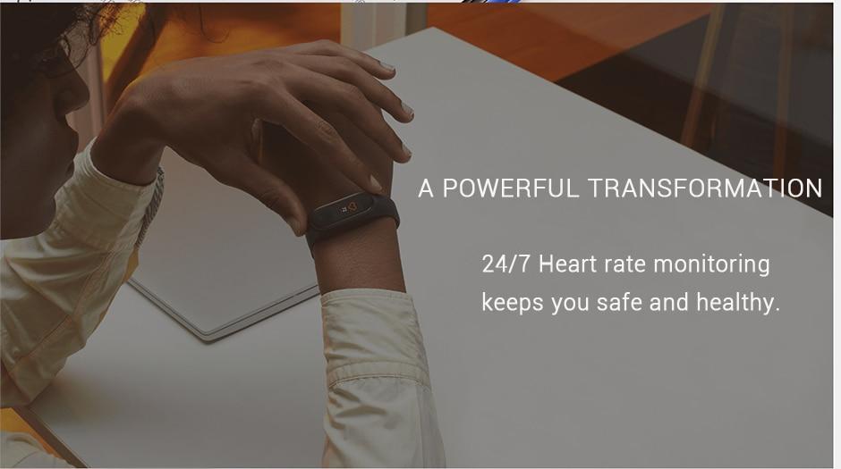 Xiaomi Mi Band 4 Smart Bracelet 3 Color AMOLED Screen Miband 4 Smartband Fitness Traker Bluetooth Sport Waterproof Smart Band