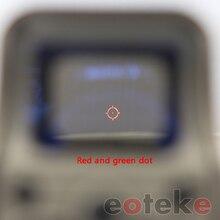 551 de 552 holográfica una serie de productos rojo, verde vista punto Rifle con 20mm raíl para Airsoft libre logo personalizado OEM