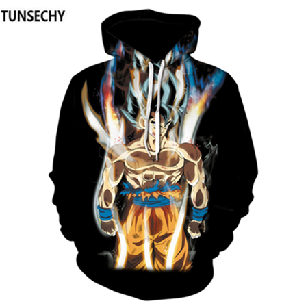 TUNSECHY Brand Dragon Ball 3D Hoodie Sweatshirts Men Women Hoodie Dragon Ball Z Anime Fashion Casual Tracksuits Boy Hooded 24