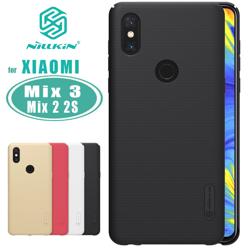 for Xiaomi Mi Mix 3 Case Nillkin Frosted Shield PC Hard Back Cover for Xiaomi Mi Mix 2 2S Mix3 Nilkin case