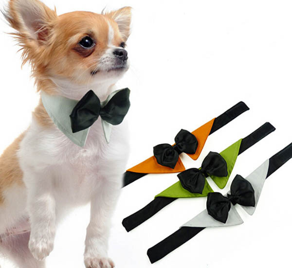 1pcs lot dogs cats fashion Festival bowknot ties doggy handsome Christmas neckties font b pets b