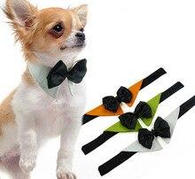 1 unids/lote Festival de moda bowknot corbatas corbatas Navidad guapo perrito perros gatos mascotas productos de perrito ropa S M L XL