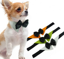 1pcs lot dogs cats fashion Festival bowknot ties doggy handsome Christmas neckties pets products puppy apparel
