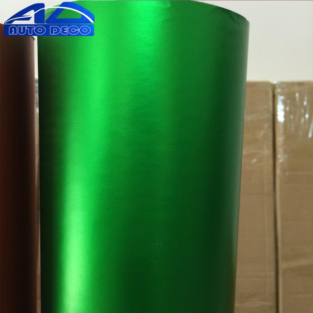 Apple Yeşil Buz Mat Krom Araba Vinil Film Levha Için Araba Sarma Renk Dönüşümü kolay Strentch FedEx Ücretsiz Kargo 20 M/rulo