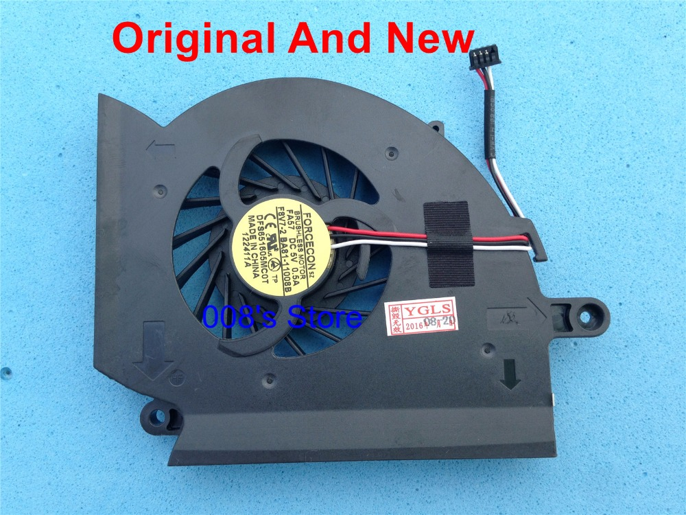 Original New For Samsung NP-RF510 RF510 CPU Cooling Fan