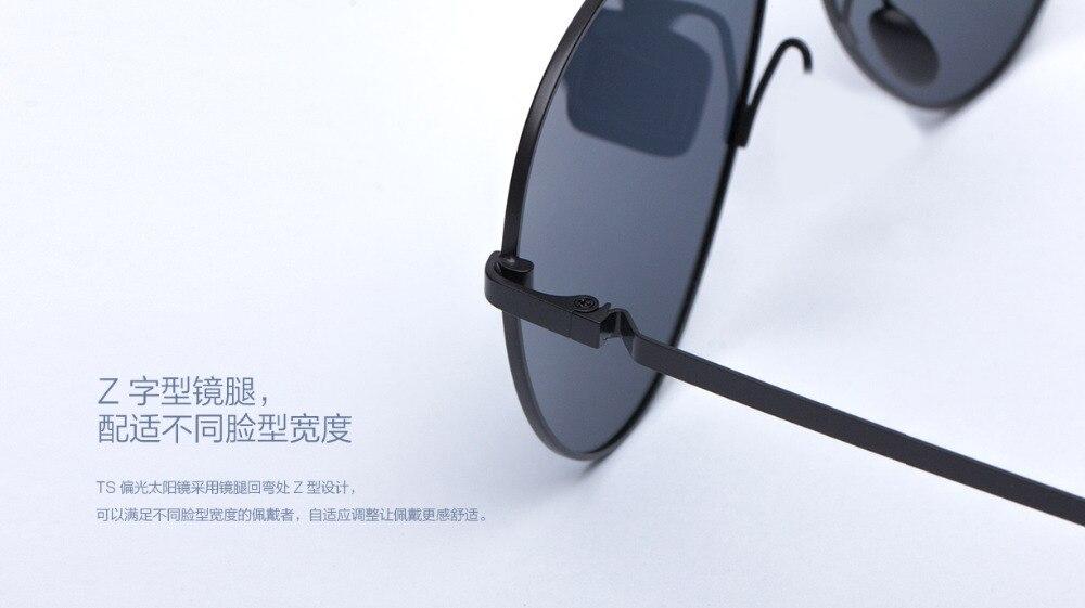 Xiaomi Mijia Turok Steinhardt TS Driver SunglassesTS Nylon Polarized Stainless SunGlass UV400 for Travel Driving unisex H20 (10)