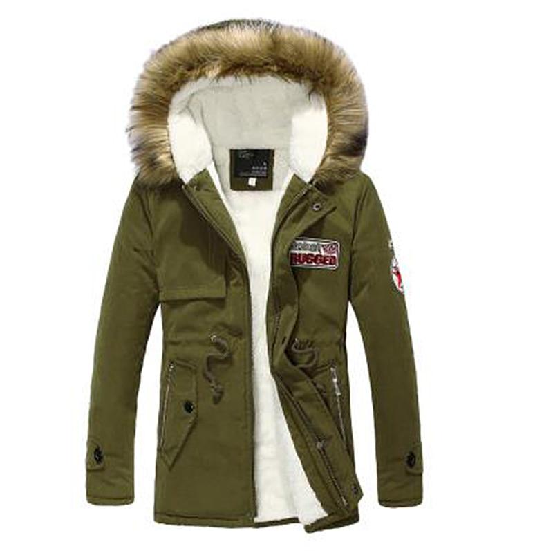 2017 Parka Men Korean version of the young jackets men winter jackets mens in the long section of the couple winter parkas