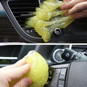 Image 5 - Car Air Vent Cleaning Glue Slime Jelly Gel Compound Dust Wiper Cleaner or Laptop PC Computer Keyboard Car Interior Cleaner Tool