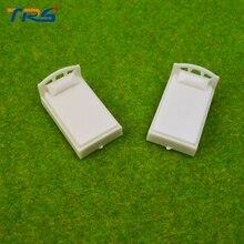 Teraysun New 1;50 Model Single-Bed 100pcs Architectural Making Scale Bed Miniature Plastic Mini