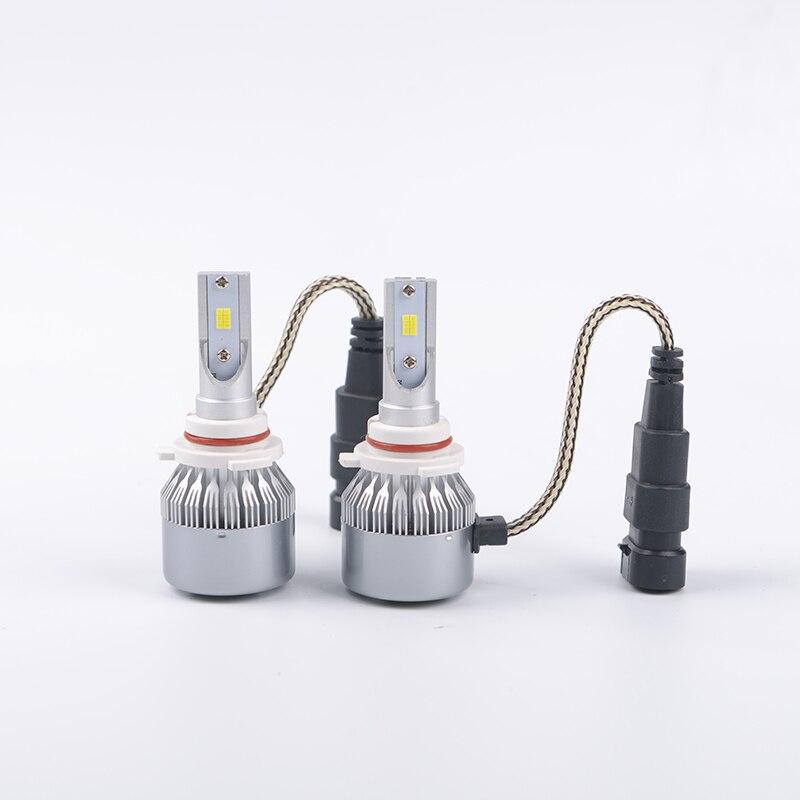 LDDCZENGHUITEC h1 led car light h3 led 12v hb3 hb4 880/881 H4 CSP headlight fog DRL automotive led bulb xenon for lada granta