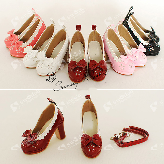 1Pair BJD 1/3 Shoes BJD FashionSD BJD DOD DZ AOD Dollfie Doll Accessories Shoes