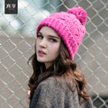 Female Autumn/winter Fashion Wool Hat Lady Knitted Cap Nifty Rowan Weave Warm Cap B-4701