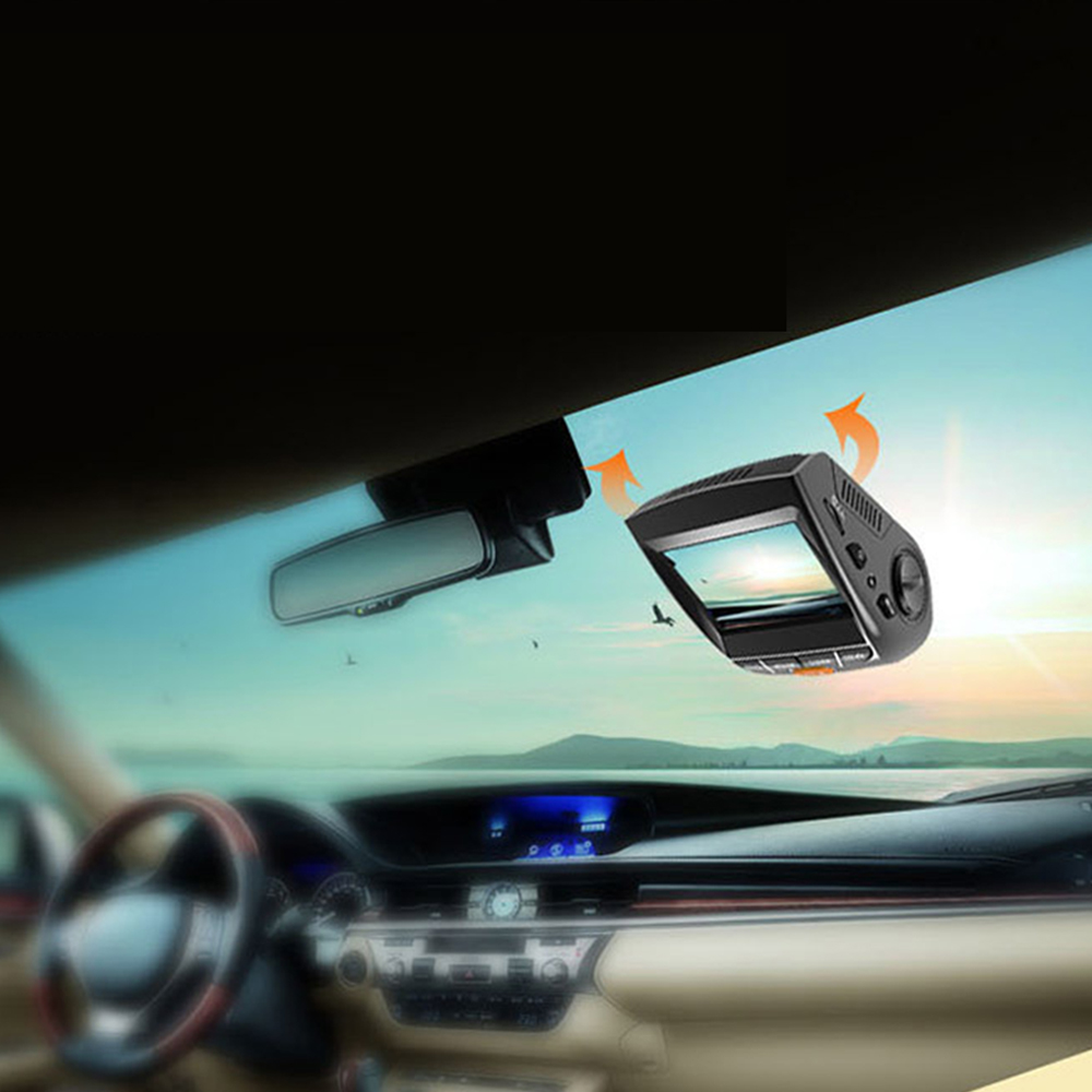 Mini Car Camera Dual Lens Car DVR Dash Cam HD 1080p 170 Wide Angle With G-Sensor WDR Loop Recording And Night Vision 6