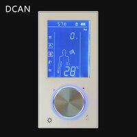 Светодиодный цифровой дисплей для управления душем Смесительный клапан Смарт смеситель для ванны ЖК переключатель