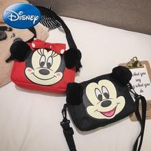Disney New Children Small Backpack Kids Messenger Bag Mini Zipper School  Student Girl Boy Fashion Cartoon Purses Book
