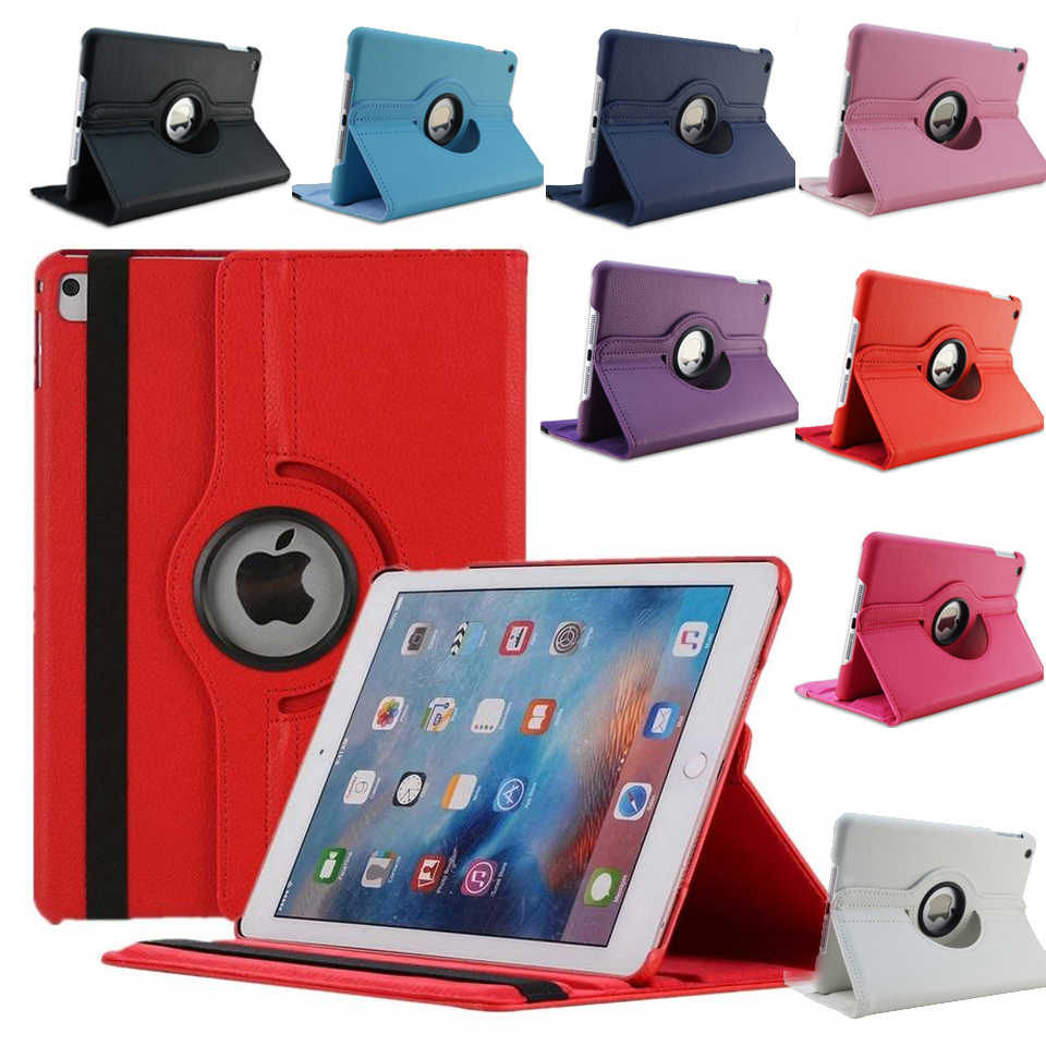 Nuevo para iPad mini 1 mini 2 mini 3 funda 360 abatible con rotación soporte A1432 A1454 protector 7,9 ''funda para iPad mini 1 2 3 Smart Cover