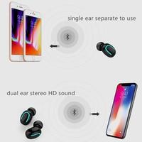 case iphone 5 Twinbuys Wireless Earphones TWS Bluetooth 5.0 Headsets 2600mah charging case Mini Bluetooth headphones for xiaomi iphone samsung (3)