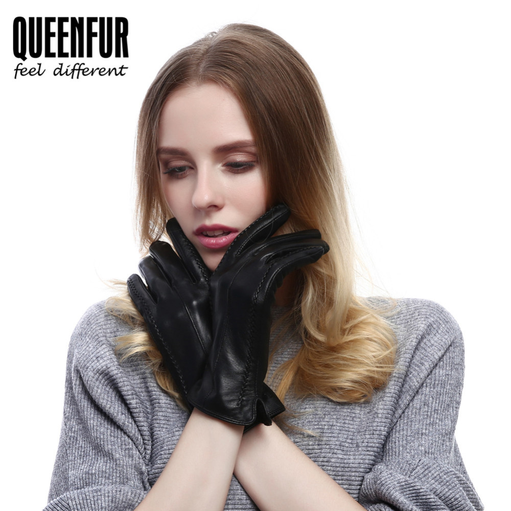Ladies unlined leather driving gloves - Ladies Leather Driving Gloves