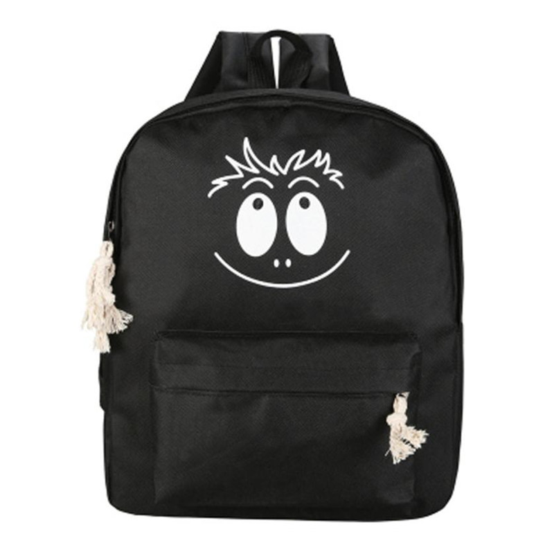 Funny Face Printing Backpack Junior High School Students Schoolbag Laptop Bag Back Pack Bag for Girls Gift Mochila Feminina