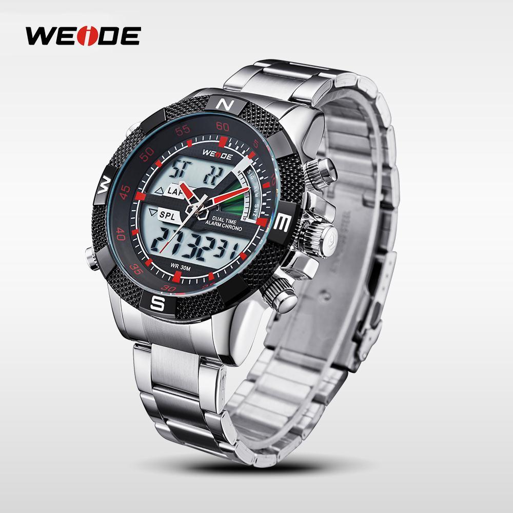 WEIDE Famous Brand Sport Complete Kalender Herenhorloges 3ATM - Herenhorloges - Foto 3