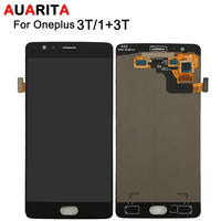 AAA Quality 1pcs LCD For OnePlus 3T A3010 LCD Display Touch Screen With Digitizer Assembly For