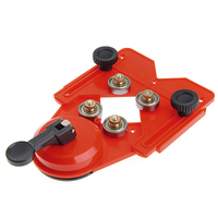 Adjustable 4 83mm Glass Tile Hole Saw Drill Guide Locator Openings Sucker Base W312