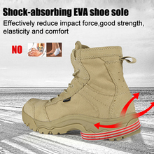 FREE SOLDIER Outdoor Sports Tactical Camping Hiking Climbing Shoes Men's Boots