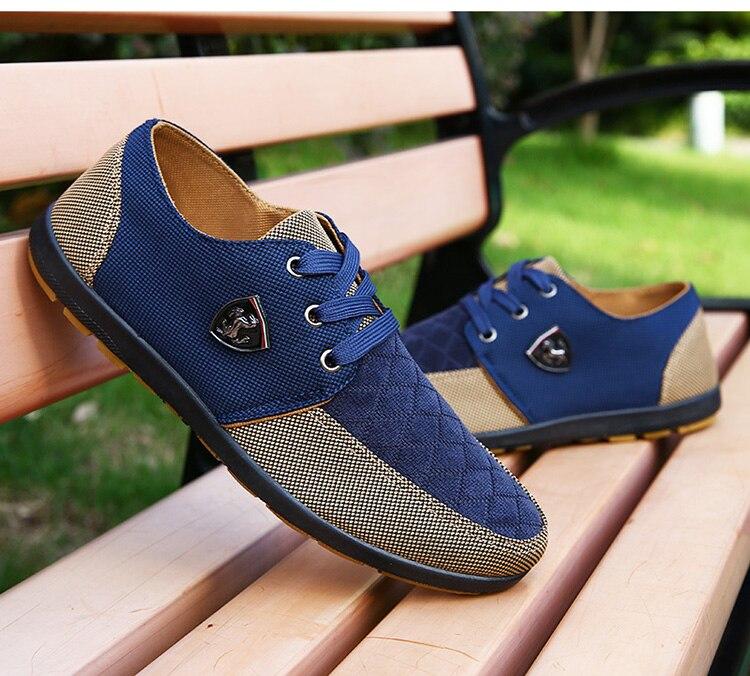 HTB1zn3uaiLrK1Rjy1zdq6ynnpXal 2019 Shoes Men Flats Canvas Lacing Shoes Breathable Men Casual Shoes Fashion Sneakers Men Loafers Wholesale Men 39 S Shoes